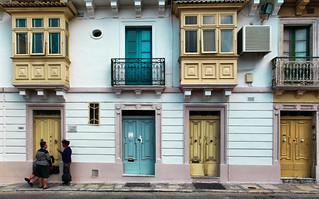 Doors and balconies