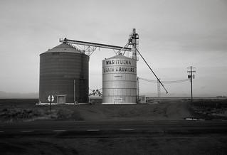 Silos, Eastern Washington