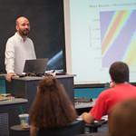 Michael Bereman in the classroom