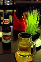 Vietnam-Ho Chi Minh City:At the Viet Village restaurant II. (roxykon) Tags: vietnam indochina seasia hochiminhcity drinks pentaxk5 tamron18250mm
