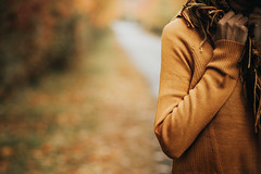 *** (Gabriela Tulian) Tags: autumn beautiful beauty blond orange closeup cold countryside horizontal landscape natural nature outdoor pretty yellow trees sweater scarf winter woman woolen youngwoman