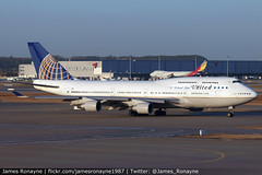 N121UA | Boeing 747-422 | United Airlines (james.ronayne) Tags: n121ua boeing 747422 united airlines