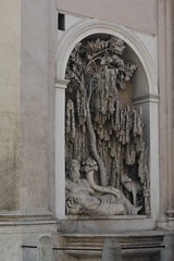 Rome, Italy - The Four Fountains - River Tiber (jrozwado) Tags: europe italy italia rome roma unescoworldheritage fountain fontana fourfountains quattrofontane river fiume tiber tevere wolf