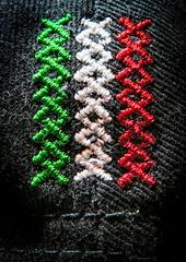 Sewn macro mondays (vinnie saxon) Tags: hmm rhymeswithstone stonerhymingzone sewn macromondays macro