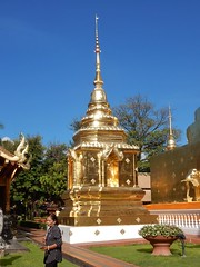 Glittering Stupa (mikecogh) Tags: chiangmai temple buddhist golden stupa glittering phrasingh point religion belief culture