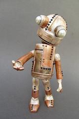 HashtagNono fini ! (mmarple62) Tags: robot bjd bjddartiste ooakbjd ooak custo peinture painting customisation plastiroc clay handmade faitmain