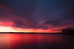 Between Night and Day (mclcbooks) Tags: sunrise dawn daybreak morning landscape lake longexposure le lakechatfield colorado chatfieldstatepark