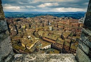 Window into Siena