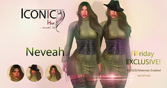 NEVEAH_BANNER (Neveah Niu /The ICONIC Owner) Tags: neveahniu 3dmesh 3dart 3dcontent blender photoshop phototgraphy secondlife fifriday hair hairsl