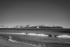 East Coast (Nicholas Erwin) Tags: hamptonbeach ocean landscape seascape waves coast eastcoast water contrast blackandwhite monochrome bw nikon d610 nikkor 70200f4vr hampton newhampshire nh unitedstatesofamerica usa america fav10 fav25