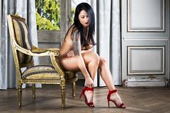 Lili (par Syl) Tags: 2017 boudoir femme lili lingerie nu nude portrait strobisme studio women sexy glamour brune