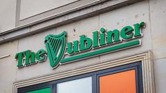 The Vubliner (Goran Patlejch) Tags: thedubliner dresden vubliner typography irishharp gaelicharp celticharp clarsach lettering design error vublin irish ireland green germany saxony