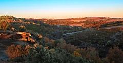 Alvorada em Paradela (ANDARILHA \\ Isabel Coimbra) Tags: sunrise alvorada planaltomirandês landscape rural village paradela ifanes mirandadodouro portugal arribas field