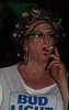 October 2017 (Patrice Bailey) Tags: glasses earrings makeup curlers rollers smoking cigarette cd crossdress crossdresser crossdressing ts tv tg tranny tgirl tgurl gurl transvestite transgender transsexual out bar club