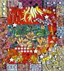 Inspiration Point (toadranchlady) Tags: mosaicart mixedmediamosaic temperedglass stainedglass foundobjects
