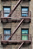 Apartment House (nyperson) Tags: fireescape windows