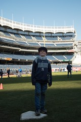 Someday....the kid in the stadium (gotr903) Tags: mlb kids baseball yankeestadium dreams nyc newyorkyankees
