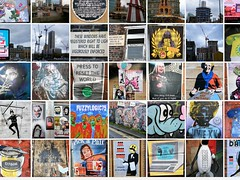 Manchester Street Art compilation🐝🐝🐝🐝🐝 (rossendale2016) Tags: squares many summary collection plenty representative cartoon new old history statues bronze bronzes posters painted massive small large building walls archaeology images clever artistic artists graffiti graffitti examples numerous unusual sample iconic colorful colourful complete unusua fantastic compilation art street manchester