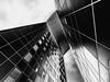 La Défense -Paris (Olympus Passion eric leroy) Tags: la défense paris omd em1 mkii zuiko 714mm f28 pro wwwolympuspassionfr olympus grand angle nb noir blanc white black cityscape urban