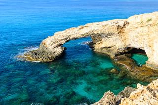 Sea Caves at Ayia Napa