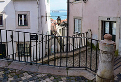 Lisbon Story (Jocelyn777) Tags: street houses architecture buildings stones cobblestones alfama lisbon lisboa portugal travel