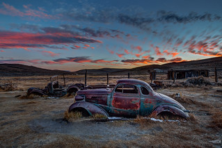 1937 Chevy Bodie Sunset