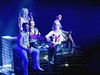 Deeper Shade Of Blue.... (law_keven) Tags: steps music livemusic greenwich london england o2 20yearsofsteps leelatchfordevans clairerichards lisascottlee fayetozer ianhwatkins 90smusic tearsonthedancefloorlive newmusic stage concert people