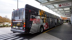 BWI Airport Rental Car Shuttle 2017 New Flyer Xcelsior XN60 #312 (MW Transit Photos) Tags: bwi airport rental car shuttle new flyer xcelsior xn60