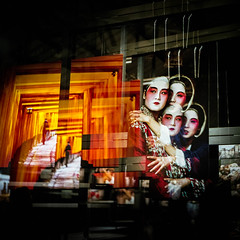 Stamp (Daniel Caridade) Tags: portrait beauty film shadow sombra escuro portugal porto dark world rolleiflex exhibition pelicula mundial alfandega rollei mccurry exposição orange laranja japan japão