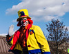 Clown--Bright (PAJ880) Tags: clown shriners stilts quincy ma christmas parade wollaston