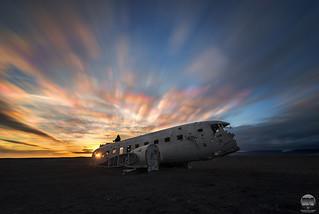 Sólheimasandur Plane Wreck DC 3 | Iceland