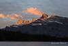 Banff (Rolandito.) Tags: north america amerika canada kanada rocky mountains alberta two jack lake sunrise morning mountain