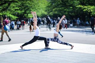 Gymnastics at Ueno Park