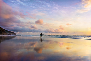 Maori Bay Sunset