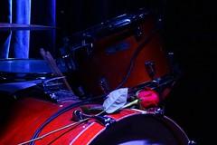 la rosa di Bill (fotomie2009) Tags: drum batteria rosa rose stage impression romantic raindogs house savona italy fleshtones picture music sight sound