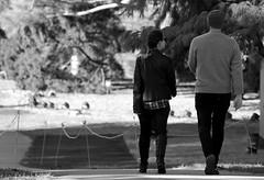 Young Love, Morton Arboretum. (EOS) (Mega-Magpie) Tags: canon eos 60d outdoors people person lady man woman dude fella girl the morton arboretum lisle dupage il illinois bw black white mono monochrome