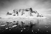 Mountains of Antarctica (thomas.reissnecker) Tags: bw blackandwhite ngc gadventure landscape msexpedition mountains antarctica