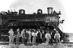 Grand Canyon Railway Crew (MikeArmstrong) Tags: steam train grand canyon locomotive arizona
