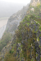 DSC_1526 (d0mokun) Tags: bristol england unitedkingdom gb winter snow clifton suspension bridge kingdom brunel architecture rocks geology