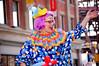 Cosmic Clowns (*~Dharmainfrisco~*) Tags: dharma dharmainfrisco calgary stampede parade 2009 local celebs celebrate cowboyws cowboys cowgirls indians historic clowns irish dancers floats police royal royalty councilman councilors council city politics polticians cheerleaders animals pet dog sun cora breakfast alberta canada summer july