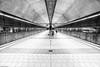 Subway Station (++sepp++) Tags: stuttgart badenwürttemberg deutschland de ubahnhof subwaystation germany killesberg bw blackwhite monochrom sw schwarzweis einfarbig architektur architecture