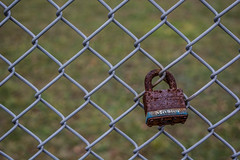 Lock-2_MaxHDR (old_hippy1948) Tags: lock rust chainlinkfence fence