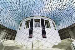 The British Museum (GER.LA - PHOTO WORKS) Tags: museum museales britishmuseum london architektur geometrie