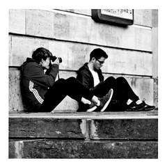 my adidas (n° 6) (japanese forms) Tags: ©japaneseforms2017 ボケ ボケ味 モノクロ 日本フォーム 黒と白 bw blackwhite blackandwhite blancoynegro bokeh candid monochrome random schwarzweis square squareformat strasenfotografie straatfotografie streetphotography vlaanderen zwartwit adidas