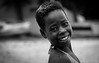 Weekend Smile II (gunnisal) Tags: africa portrait smile face girl blackandwhite monochrome bw maputo mozambique costadasol gunnisal