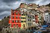Liguria (denismartin) Tags: denismartin liguria italia italy cinqueterre riomaggiore vernazza hdr village sea seashore seaside mediterraneansea mediterranée boat harbour sky cloud colorsoftheworld colorandcolors architecture history