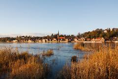 Lauenburg an der Elbe (Lilongwe2007) Tags: deutschland schleswig holstein lauenburg elbe abendlicht altstadt architektur wasser
