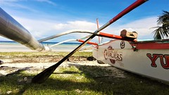 the  cavs (canencia) Tags: cavs cavaliers cleveland boat fishingboat native anda bohol philippines racs cebuano sea sand white red bamboo racs0706