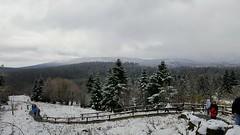Torfhaus - Winter im Harz und der Brocken im Nebel (ohaoha) Tags: europa europe deutschland germany alemania niedersachsen lowersaxony harz torfhaus winter schnee