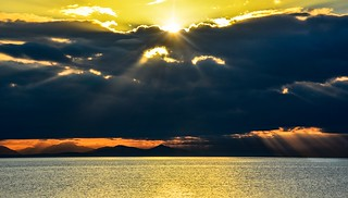 Behind every cloud is a 'golden' lining